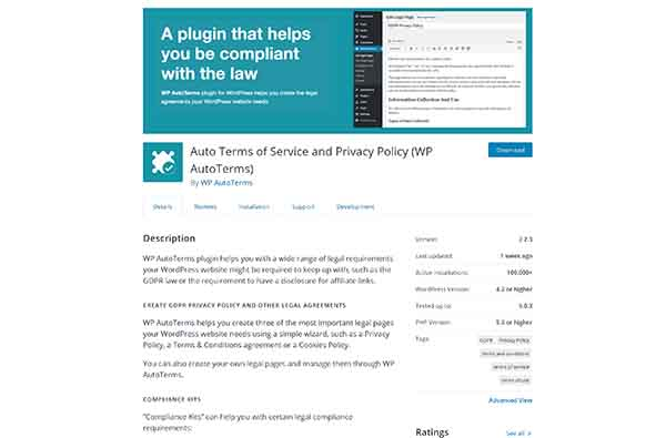AutoTerms Privacy Policy Generator​