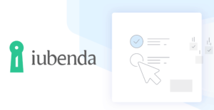 iubenda logo with mouse navigation