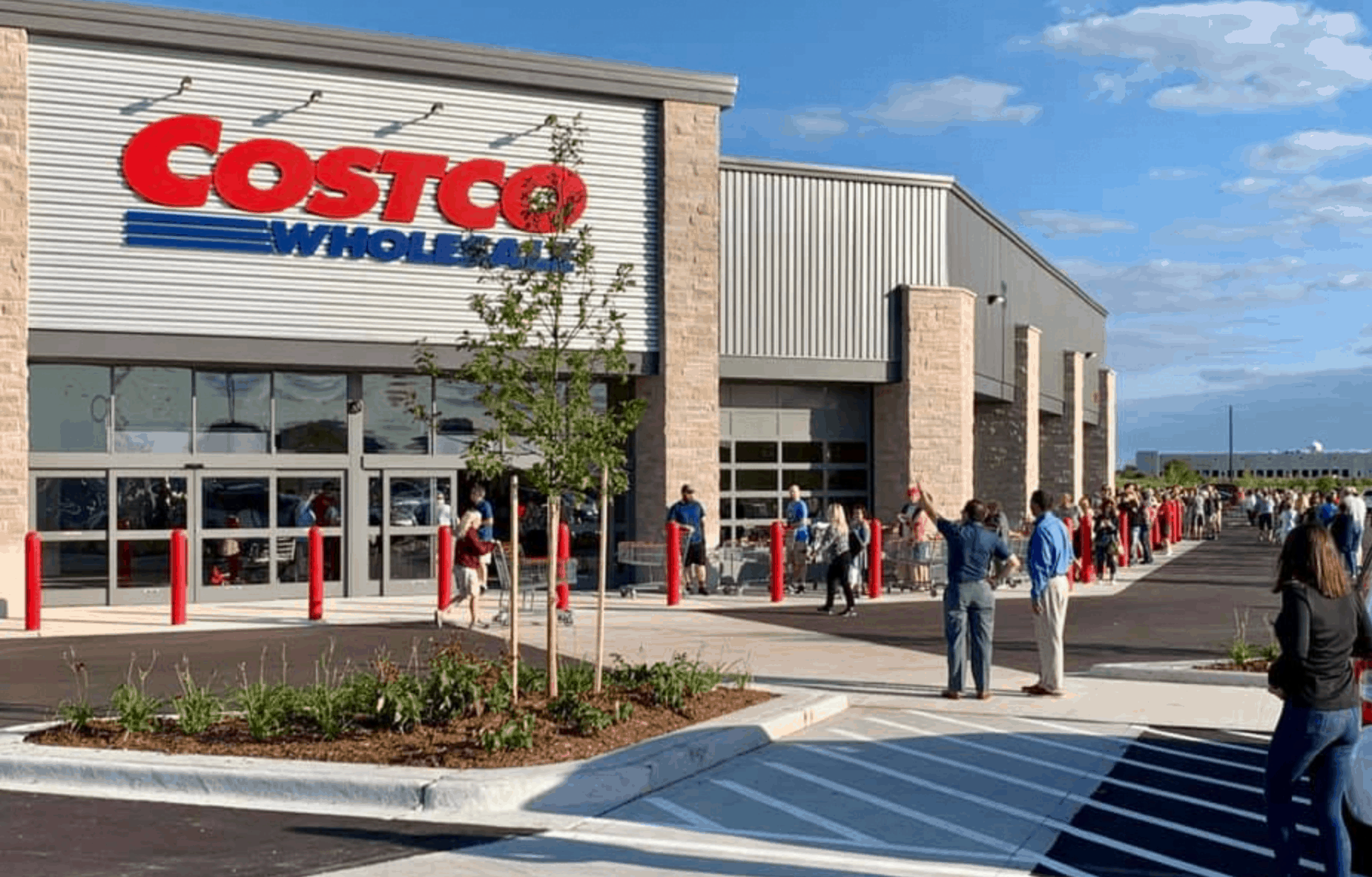 outdoor view of costco
