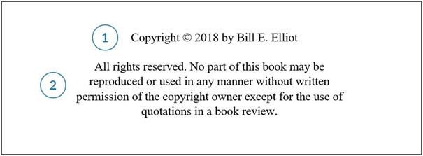 Copyright Disclaimer Example