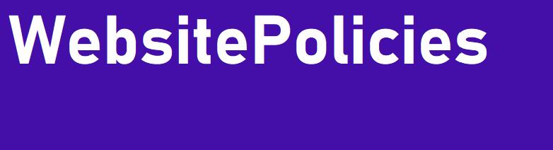 WebsitePolicies return policy generator