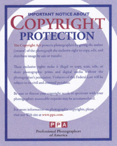 A notice about copyright protection