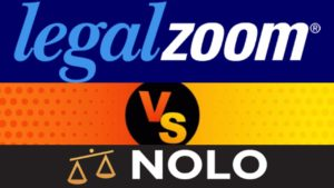LegalZoom and Nolo logos