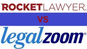 RocketLawyer or LegalZoom