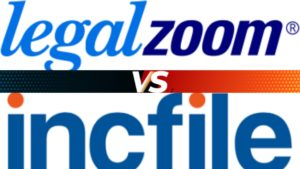 LegalZoom and Incfile logos
